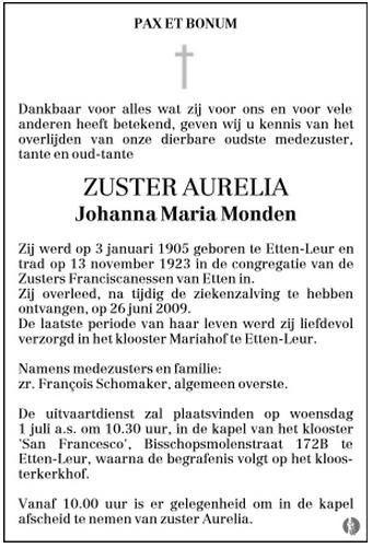 Monden-Johanna-Maria-Rouwadvertentie-26-06-2009