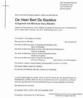 Backker-Bert-de-Rouwadvertentie