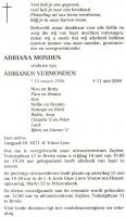 Monden-Adriana-Rouwadvertentie