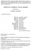 Monden-Christiaan-Cornelis-Paulus-Overlijdensadvertentie-