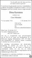 Monden-Kerstens-Dina-Rouwadvertentie