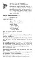 Snepvangers-Henk-Rouwadvertentie