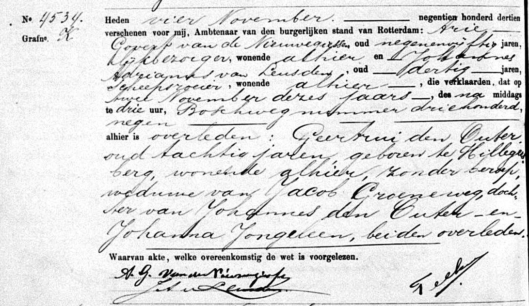 Outer-Geertrui-den-Overlijdensakte-02-11-1913