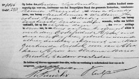Apon-Godefridus-Overlijdensakte-01-09-1896-Rotterdam