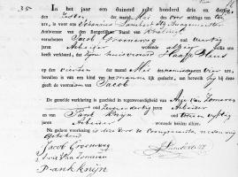 Groeneweg-Jacob-Geboorteakte-04-05-1833-Kralingen