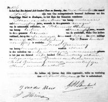 Groeneweg, Jacob. Overlijdensakte 25-07-1872 Kralingen.jpg