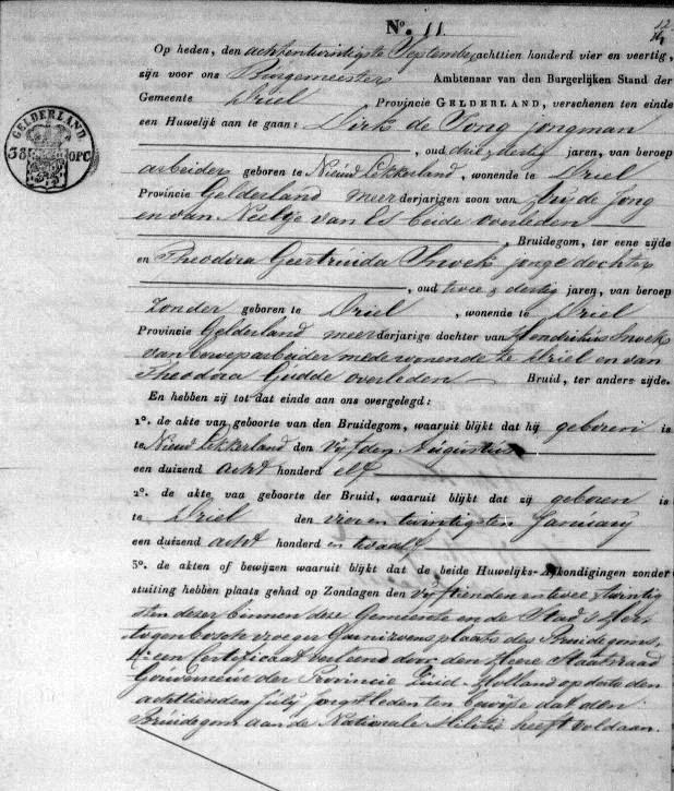 Jong-Dirk-de-en-Theodora-G.-Snoek-Huwelijk-28-09-1844-Driel-a