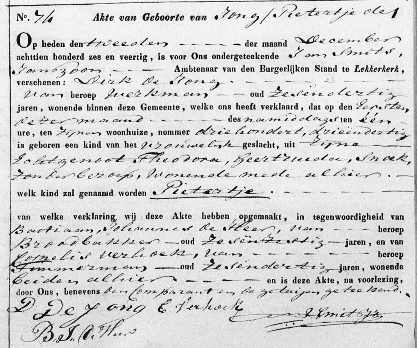 Jong-Pietertje-de-Geboorteakte-02-12-1846-Lekkerkerk