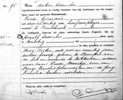 Kooij-Pieter-Overlijdensakte-12-12-1947-Bennebroek