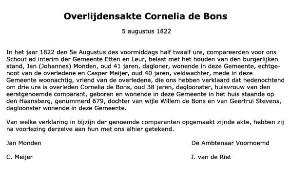 Bons-Cornelia-de-Overlijden-05-08-1822-Tekst