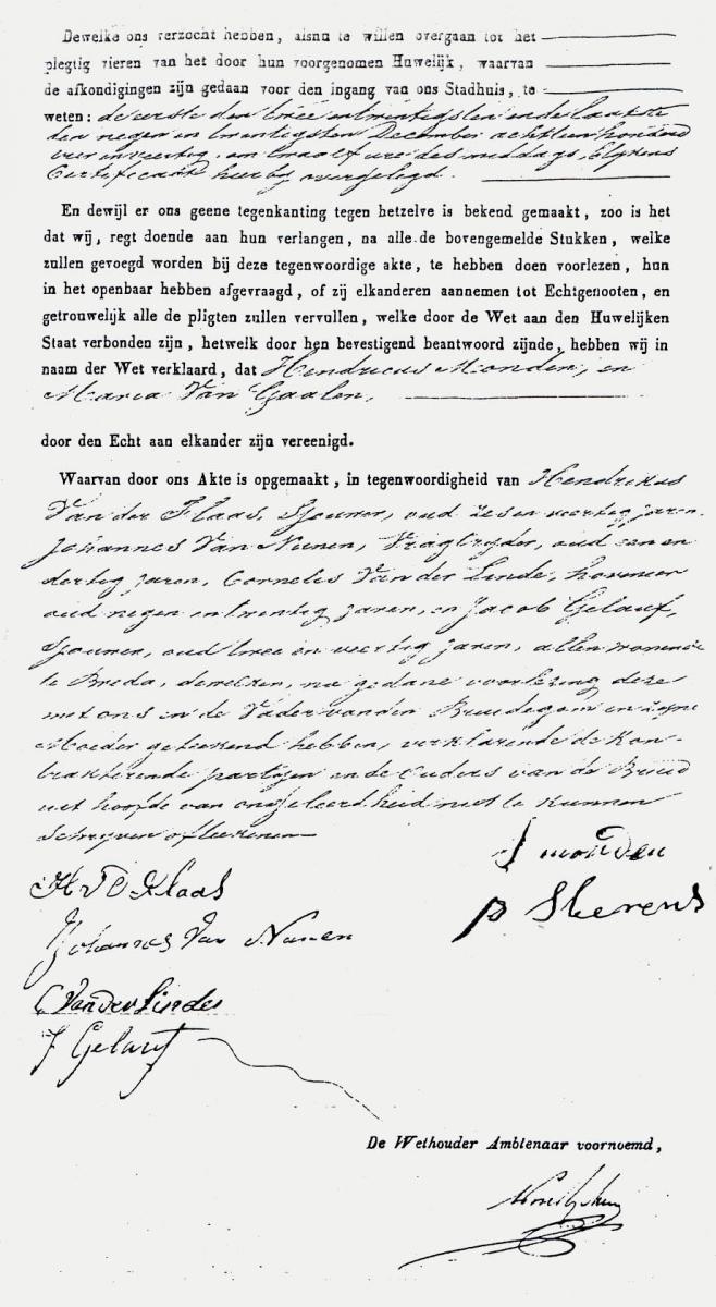 Monden-Hendrikus-en-Gaalen-Maria-van-Huwelijksakte-09-01-1845