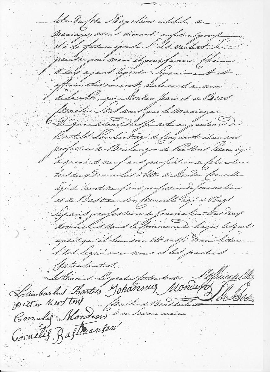 Monden-Johannes-en-Bons-Cornelia-de-Huwelijk-09-06-1811-Akte