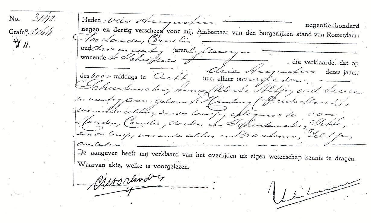 Schuitemaker-Anna-A.A.-Overlijdensakte-03-08-1939