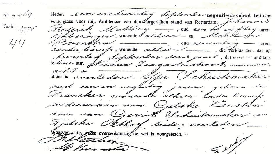 Schuitemaker-Ype-Overlijdensakte-20-09-1920