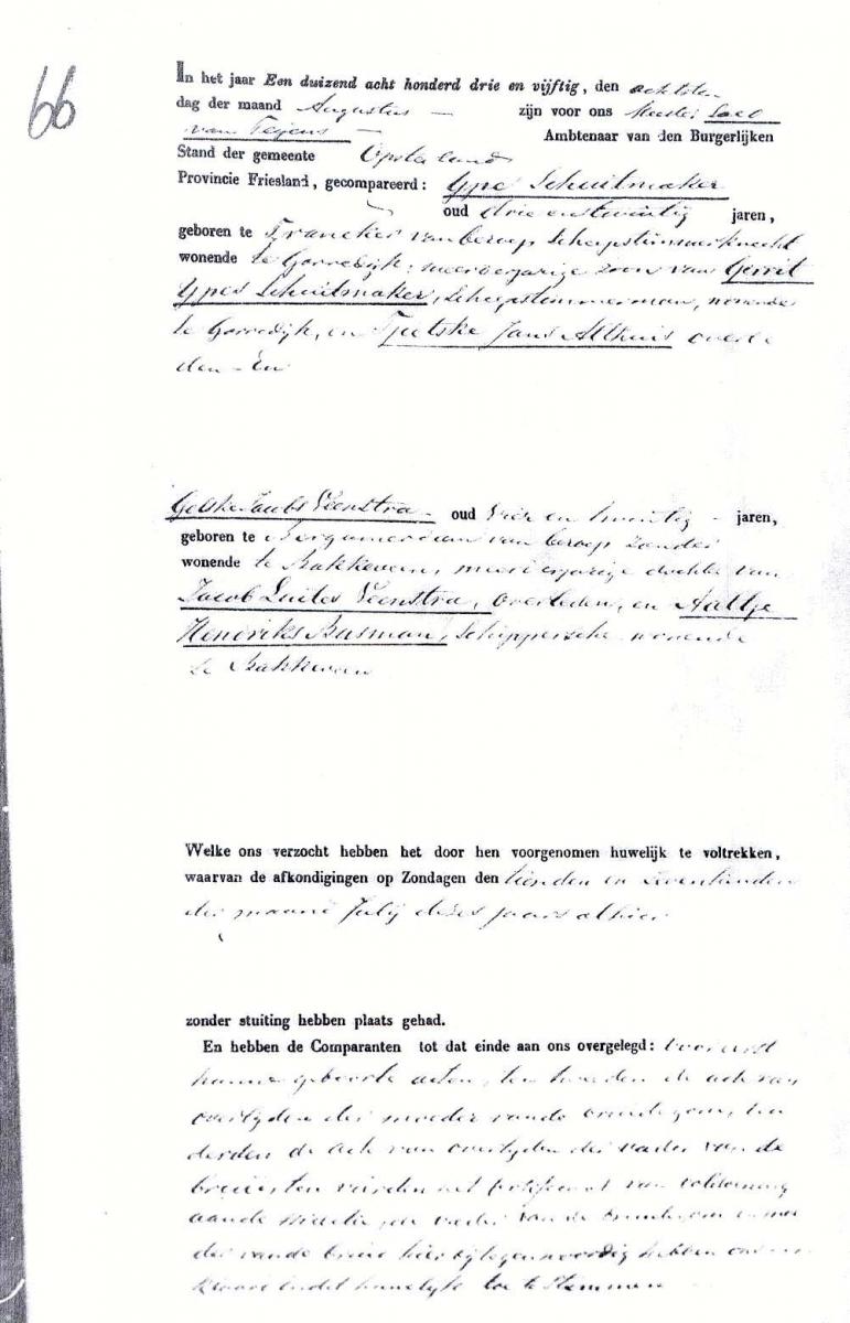 Schuitemaker-Ype-en-Veenstra-Gelske-J.-Huwelijksakte-a-08-08-1853