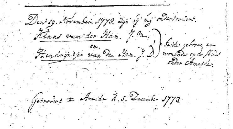 Ham-Claes-van-der-en-Ham-Hendreintje-van-der-Huw.-05-12-1773-Ameide