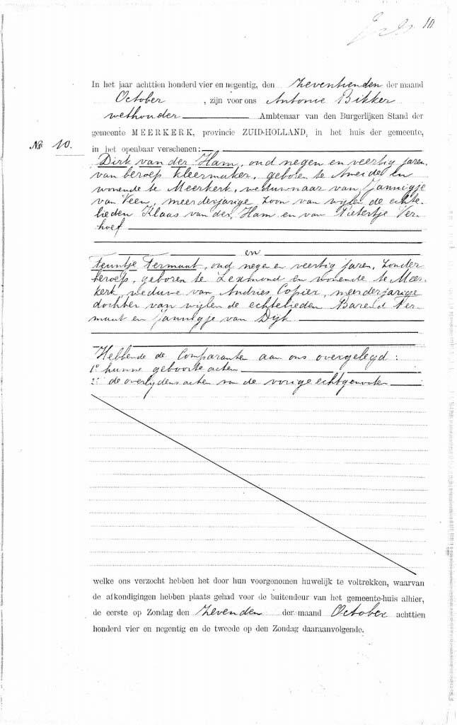 Ham-Dirk-v.d.-en-Teuntje-Termaat-Huwelijksakte-17-10-1894