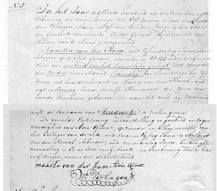 Ham-Hendreintje-van-der-Geboorteakte-06-02-1813