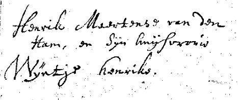Ham-Hendrik-van-der-en-Verwiel-Weijntje-Ondertrouw-03-03-1699-Meerkerk-a