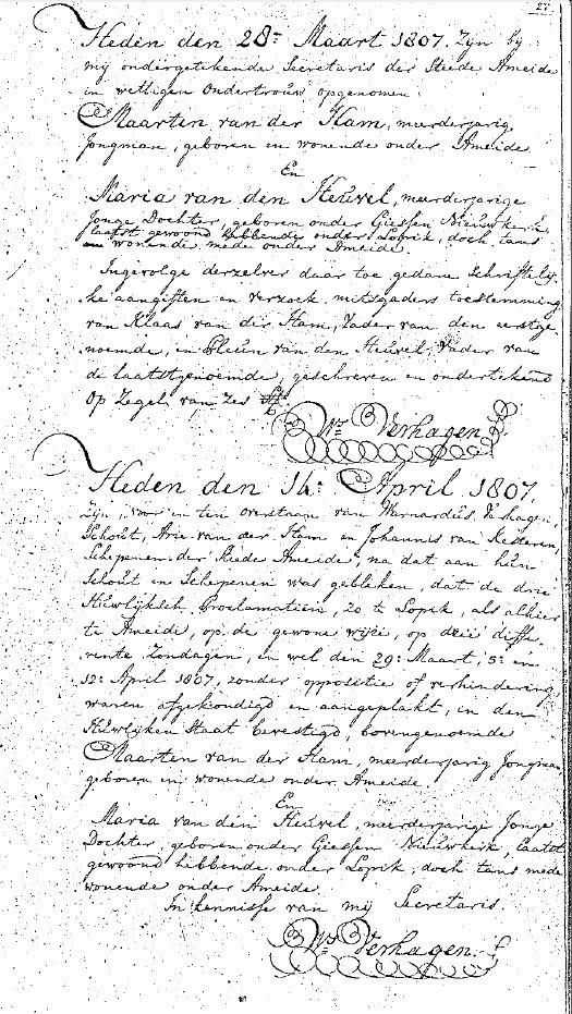 Ham-Maerten-van-der-en-Heuvel-Maria-van-den-Huwelijk-16-04-1807-Ameide