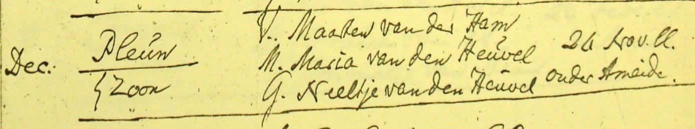 Ham-Pleun-Mz-vd-doop-23-11-1811