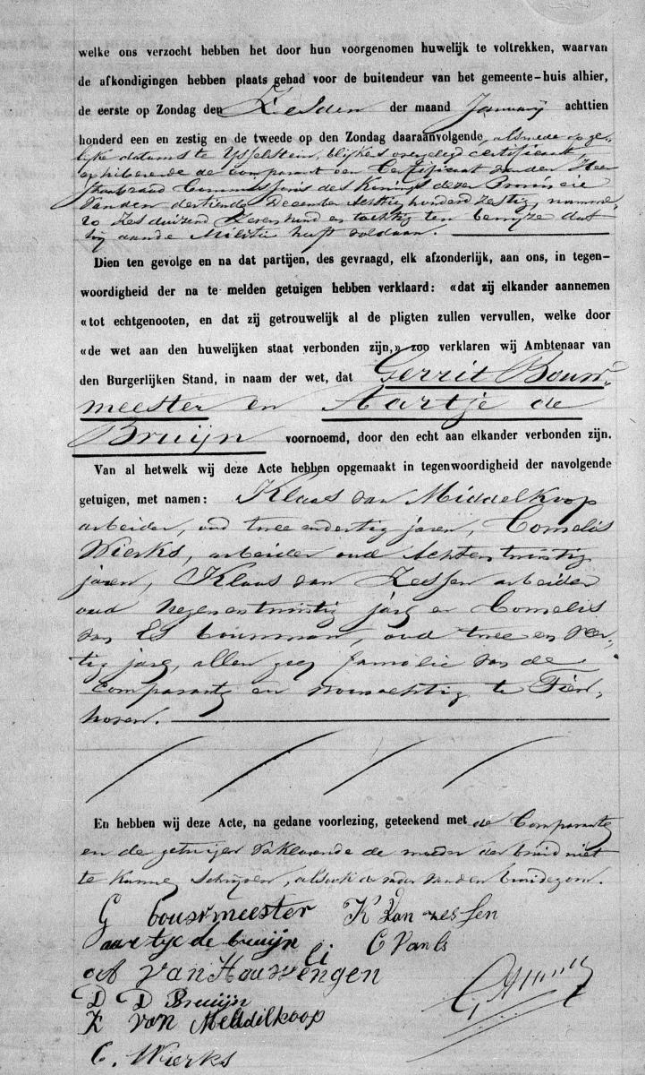 Kogel-Bouwmeester-Gerrit-de-en-Bruijn-Aartje-de-Huw.-19-01-1861-Tienhoven-b