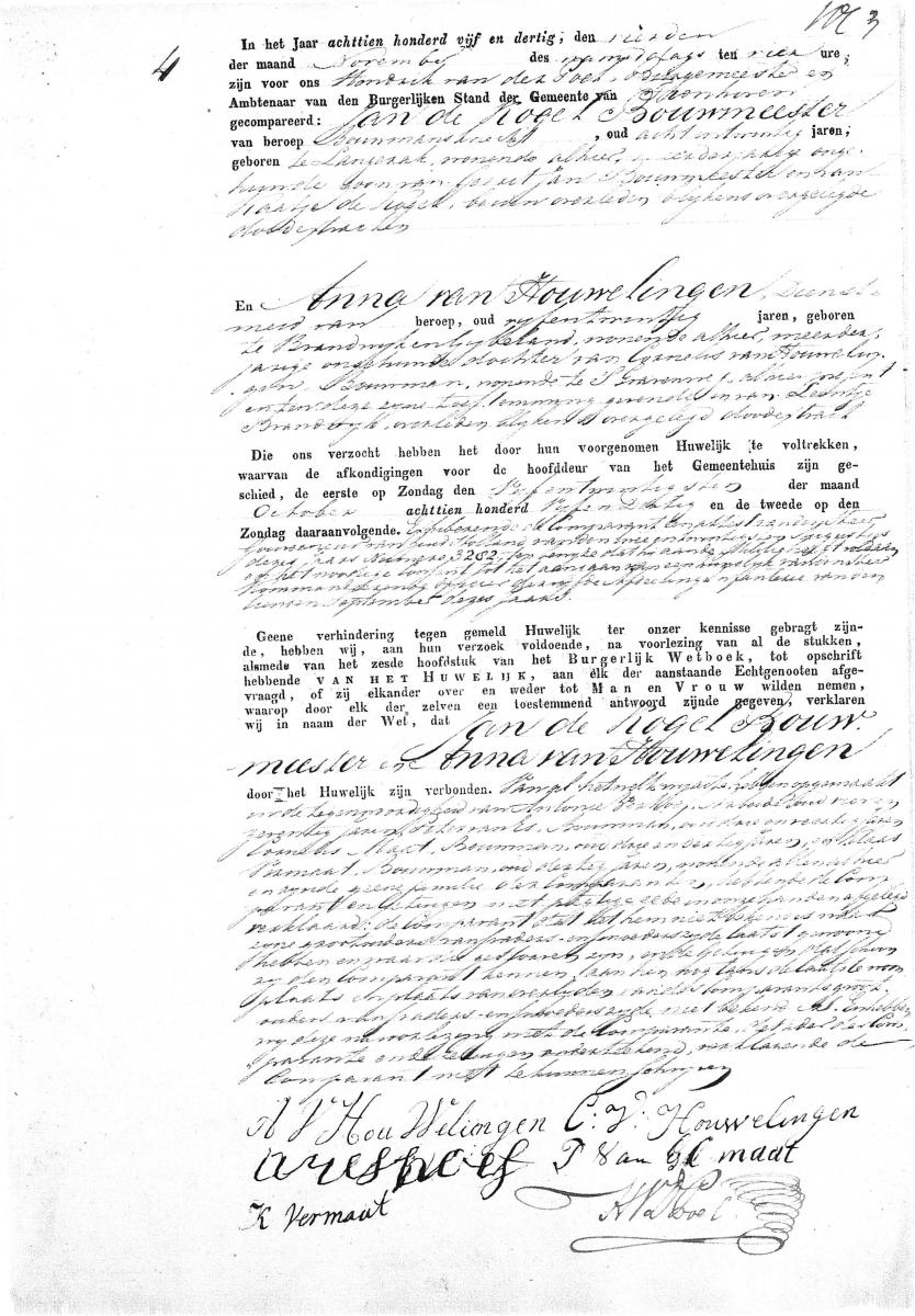 Kogel-Bouwmeester-Jan-en-Houwelingen-Anna-van-Huwelijksakte-04-11-1835