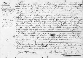 Bouwmeester-Gerrit-Jan-Overlijdensakte-02-02-1819-Langerak