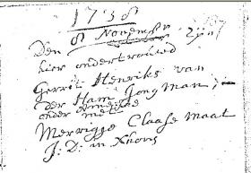 Ham-Gerrit-Hendriks-van-der-en-Maat-Merrigje-Claase-Huwelijk-08-11-1738-Ameide