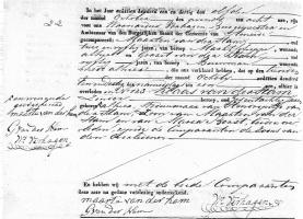 Ham-Klaas-van-der-Overlijdensakte-10-10-1831-Ameide