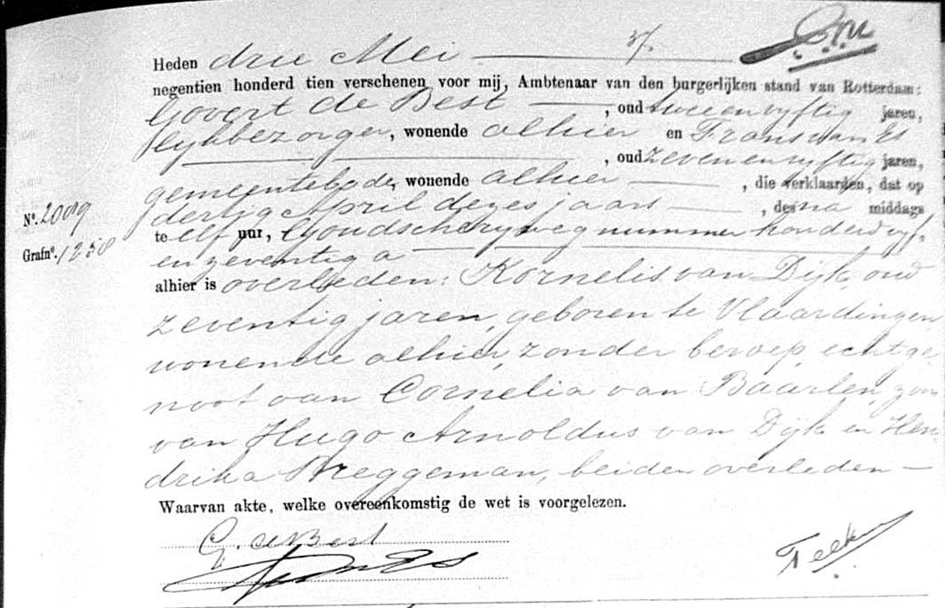 Dijk-Kornelis-van-Overlijdensakte-30-04-1911