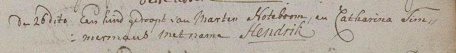 Noteboom-Hendrik-Geboorte-26-03-1760-Zevenbergen
