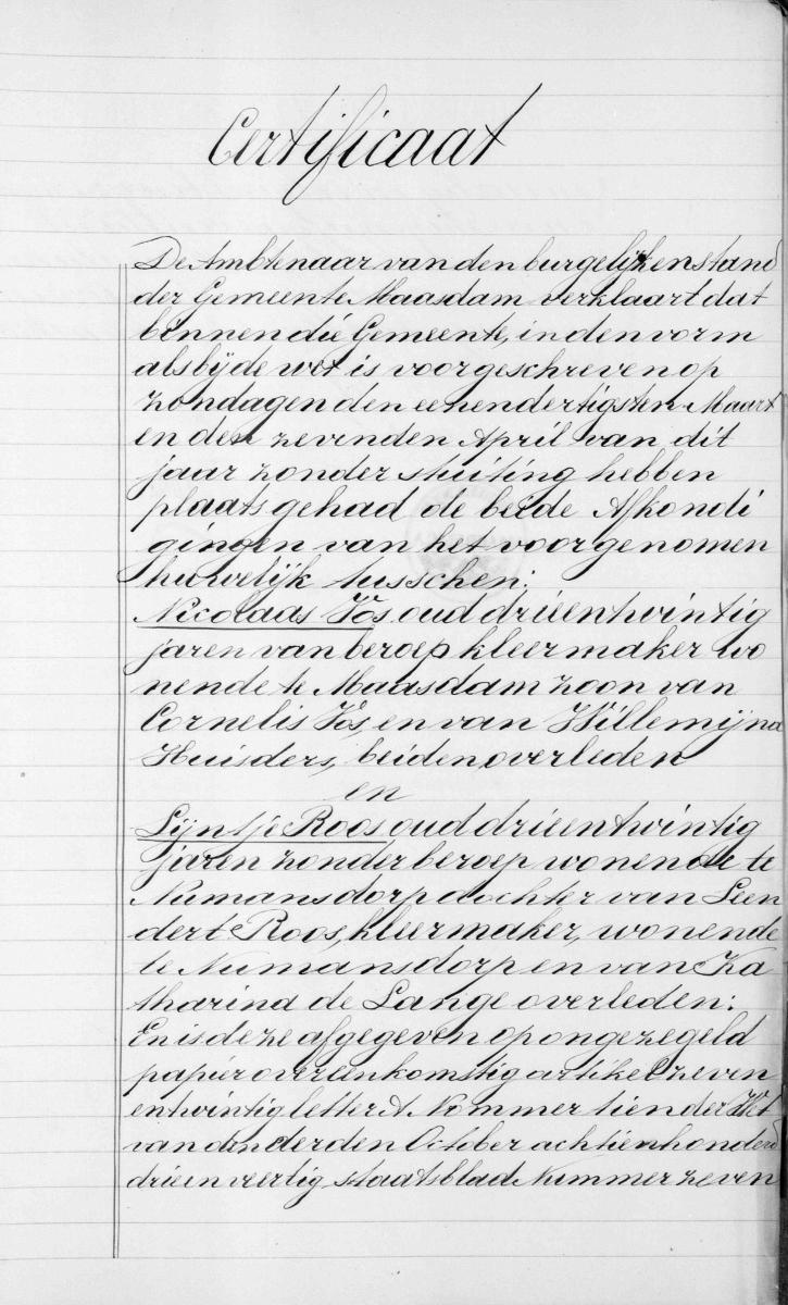 Vos-Nicolaas-en-Roos-Lijntje-Huwelijksbijlage-12-04-1878-Certificaat-a
