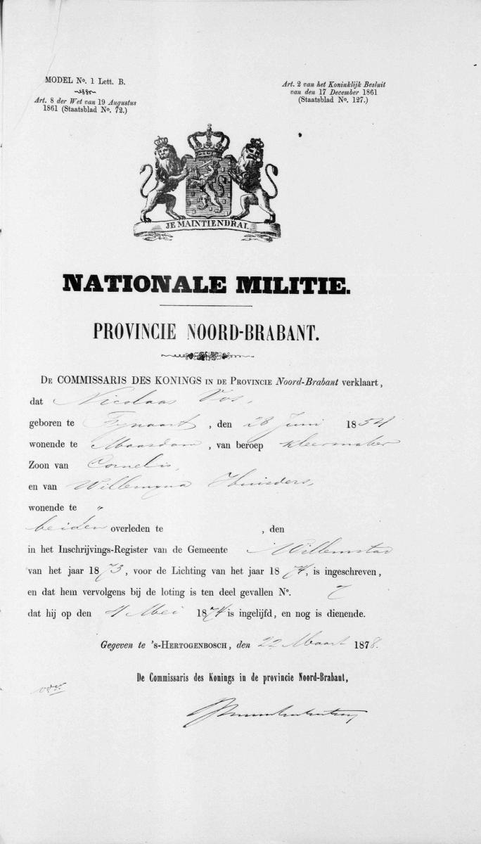 Vos-Nicolaas-en-Roos-Lijntje-Huwelijksbijlage-12-04-1878-Nat.-Militie