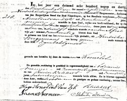 Dijk-Kornelis-van-Geboorteakte-21-09-1839-Vlaardingen