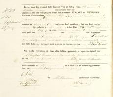 Vos-Nicolaas-Geboorteakte-23-06-1854-Fynaart-en-Heijningen