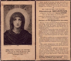 Severins-Henricus-Bidprentje-2