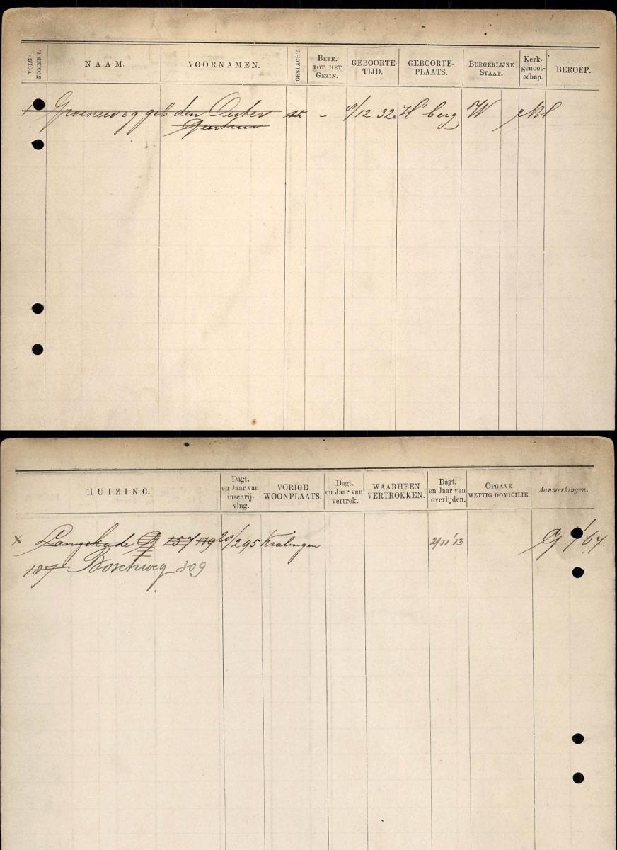 Gezinskaart-Outer-Geertrui-den-geb.-08-12-1832
