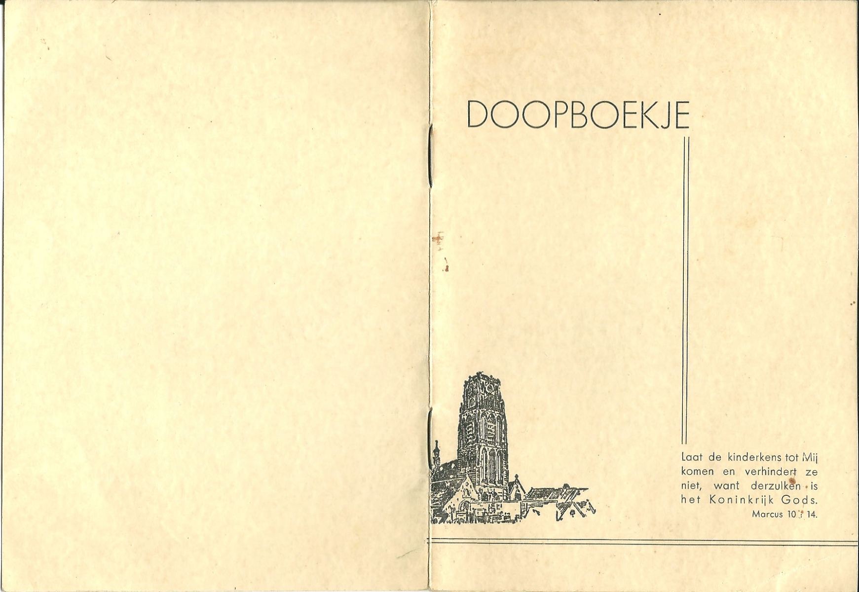 Groeneweg-Cornelis-Doopboekje