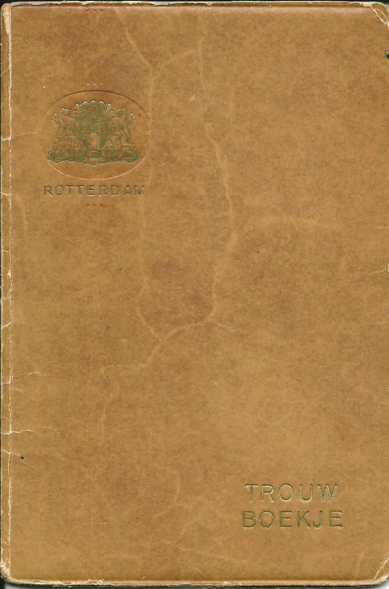 Groeneweg-Cornelis-en-Kooij-Geertrui-Trouwboekje-