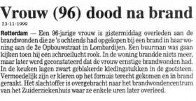 Groeneweg-Vos-Cornelia-Krantenbericht