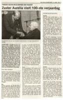 Monden-Johanna-Maria-Zuster-Aurelia-100-jaar