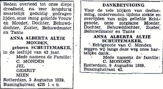 Schuitemaker-Anna-Alberta-Altje-Overlijdensadvertentie-03-08-1939