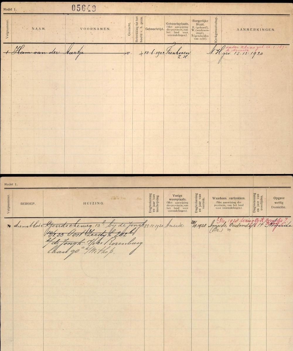 Gezinskaart-Ham-Aartje-v.d.-geb.-10-06-1902