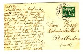 Kooij-v.d.-Ham-Aartje-Briefkaart-1942