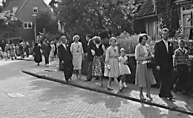 Groeneweg-Sjaak-en-Hagestein-Sjanie-Huwelijk-20-08-1960-3