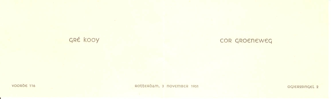 Groeneweg-Cornelis-en-Kooij-Geertrui-Verlovingskaartje-03-11-1951