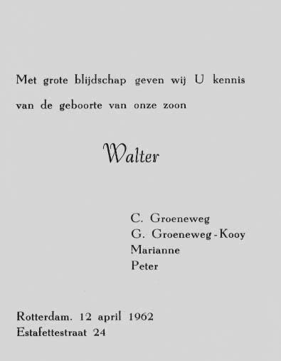 Groeneweg-Walter-Geboortekaartje-12-04-1962