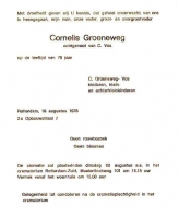 Groeneweg-Cornelis-Overlijdenskaart-18-08-1978