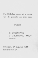 Groeneweg, Peter Geboortekaartje 24-08-1958.jpg